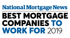 2019 Best Mortgage Companies to Work For