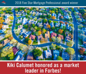 Kiki Calumet honored as a market leader in Forbes